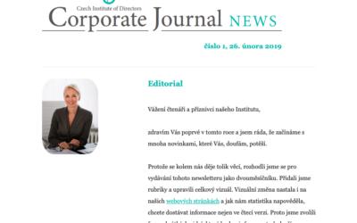 Vyšel první letošní Corporate Journal News