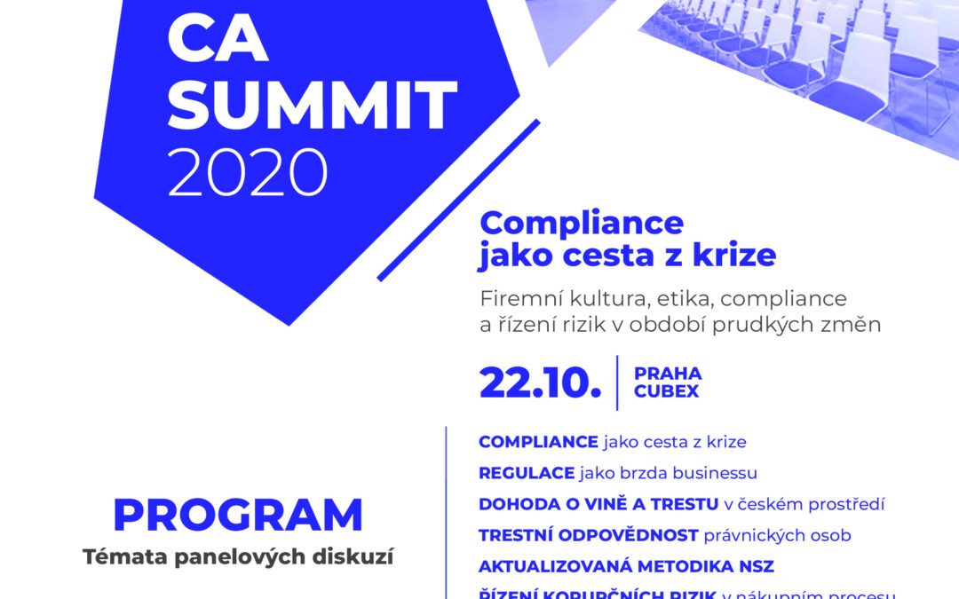 Konference CA Summit 2020