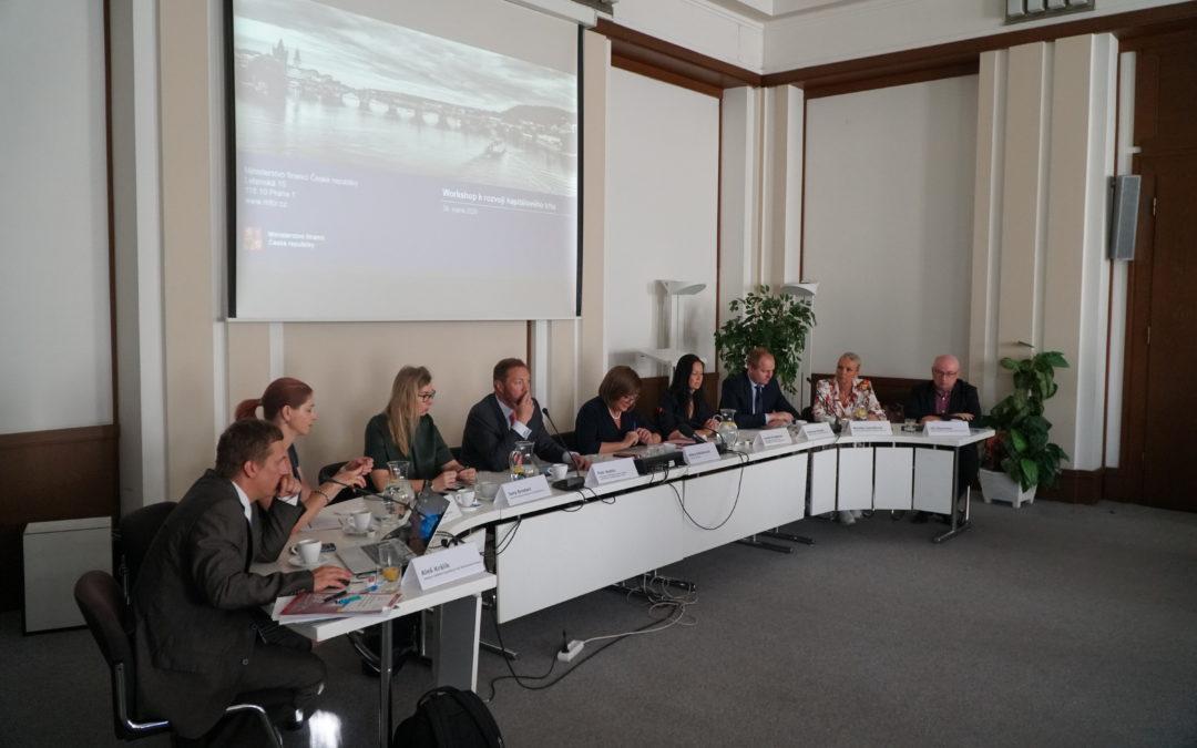 Workshop Ministerstva financí ČR